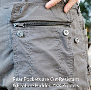 P^cubed - Pick-Pocket Proof Pants