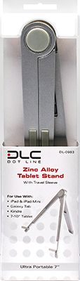 Zinc-Alloy Tablet Stand