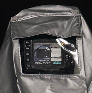 Camera Rain Cover LCD Window